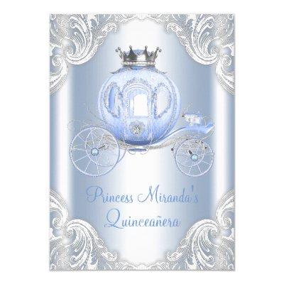 fancy cinderella princess birthday party invitation zazzle com