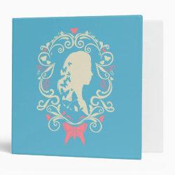 Avery Signature 1' Binder with Cinderella Cameo Profile design