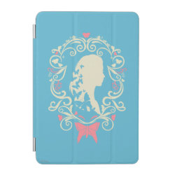 iPad mini Cover with Cinderella Cameo Profile design