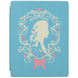 iPad 2/3/4 Cover with Cinderella Cameo Profile design