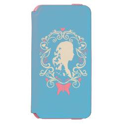 Incipio Watson™ iPhone 6 Wallet Case with Cinderella Cameo Profile design