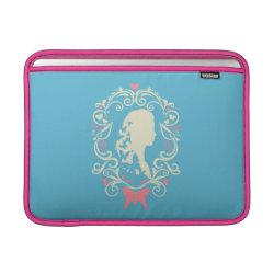 Macbook Air Sleeve with Cinderella Cameo Profile design