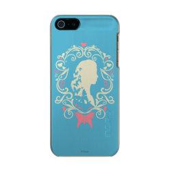 Incipio Feather Shine iPhone 5/5s Case with Cinderella Cameo Profile design