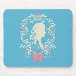 Mousepad with Cinderella Cameo Profile design