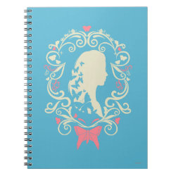 Photo Notebook (6.5' x 8.75', 80 Pages B&W) with Cinderella Cameo Profile design