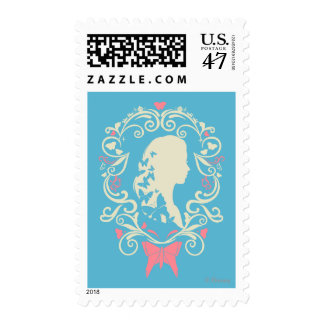 Cinderella Butterfly Cameo Postage