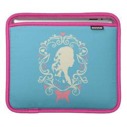 iPad Sleeve with Cinderella Cameo Profile design