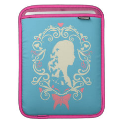 iPad Sleeve with Cinderella Cameo Profile design