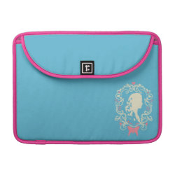 Macbook Pro 13' Flap Sleeve with Cinderella Cameo Profile design