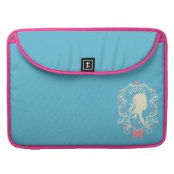 Macbook Pro 15' Flap Sleeve with Cinderella Cameo Profile design
