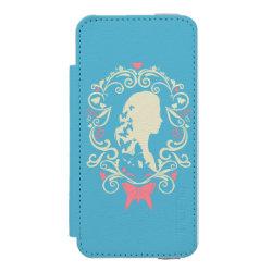 Incipio Watson™ iPhone 5/5s Wallet Case with Cinderella Cameo Profile design
