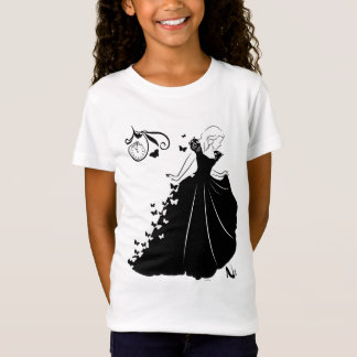 Cinderella Butterfly Dress Silhouette