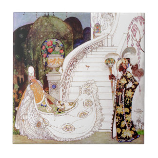 Cinderella by Kay Nielsen Ceramic Tile