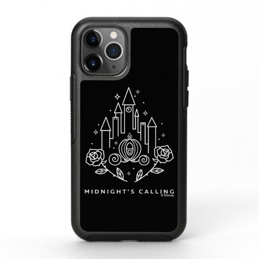 """Cinderella Carriage Outline """"Midnight's Calling"""" OtterBox Symmetry iPhone 11 Pro Case"""
