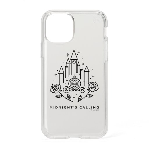 """Cinderella Carriage Outline """"Midnight's Calling"""" Speck iPhone 11 Pro Case"""