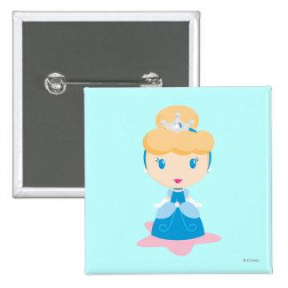 Cinderella Cartoon Pin