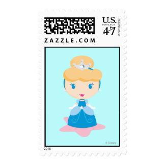 Cinderella Cartoon Stamp