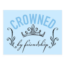 Cinderella | Crowned By Friendship Postcard