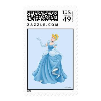 Cinderella Dancing Postage Stamp