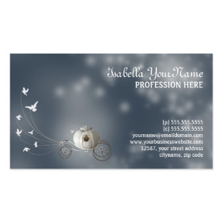 Cinderella Dream Double-Sided Standard Business Cards (Pack Of 100)