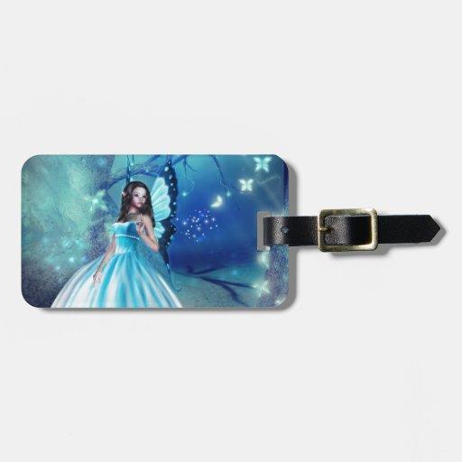 Cinderella Fairy Bag Tags