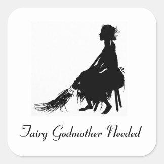 Cinderella Fairy Godmother Needed Sticker
