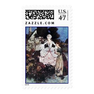 Cinderella Fairy Godmother Postage