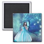 Cinderella Fairy Refrigerator Magnets