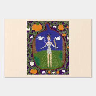 Cinderella (Fairy Tale Fashion #2) Lawn Sign