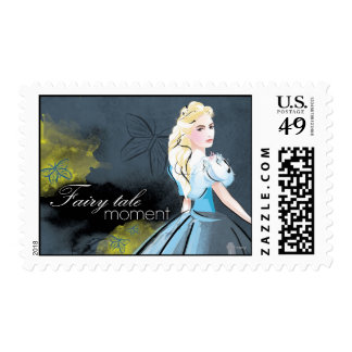 Cinderella Fairy Tale Moment Postage Stamp