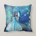 Cinderella Fairy Throw Pillows