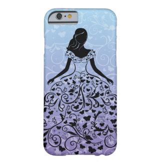 Cinderella Fanciful Dress Silhouette Barely There iPhone 6 Case