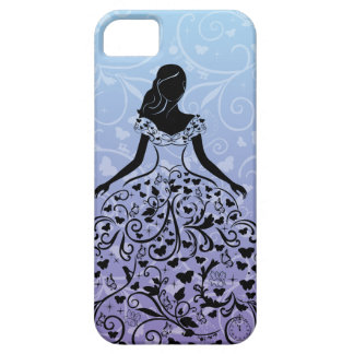 Cinderella Fanciful Dress Silhouette iPhone 5 Case