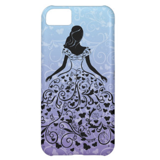 Cinderella Fanciful Dress Silhouette iPhone 5C Case