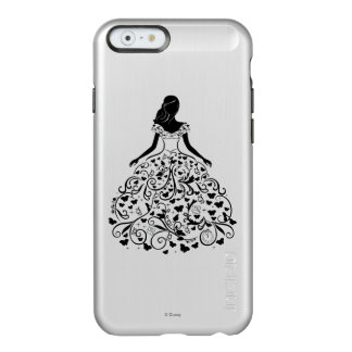 Cinderella Fanciful Dress Silhouette Incipio Feather® Shine iPhone 6 Case