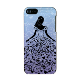 Cinderella Fanciful Dress Silhouette Incipio Feather® Shine iPhone 5 Case