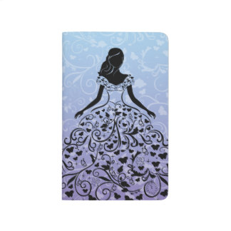 Cinderella Fanciful Dress Silhouette Journal