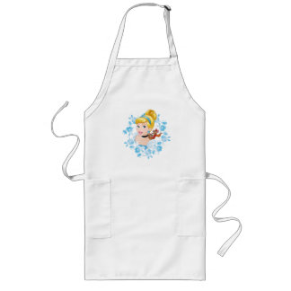 Cinderella   Flower Frame And Mice Long Apron