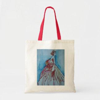 Cinderella Girl Tote Budget Tote Bag