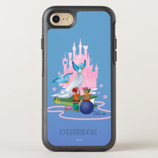 Cinderella | Glass Slipper And Mice OtterBox Symmetry iPhone 8/7 Case