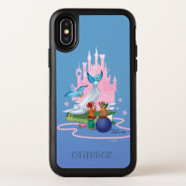 Cinderella | Glass Slipper And Mice OtterBox Symmetry iPhone X Case