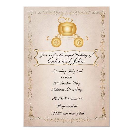 Golden Wedding Invitations | Zazzle
