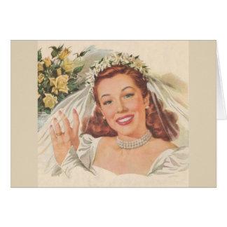 Cinderella Got Married, Card