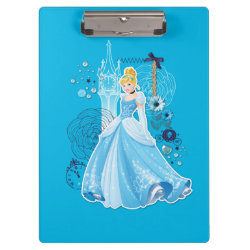 Clipboard with Mixed Media Cinderella design