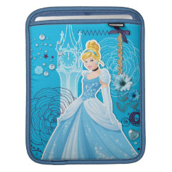 iPad Sleeve with Mixed Media Cinderella design