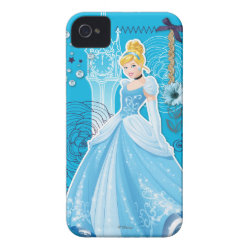 Case-Mate iPhone 4 Barely There Universal Case with Mixed Media Cinderella design
