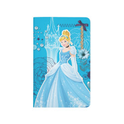 Pocket Journal with Mixed Media Cinderella design