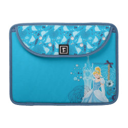 Macbook Pro 13' Flap Sleeve with Mixed Media Cinderella design