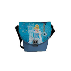 Rickshaw Mini Zero Messenger Bag with Mixed Media Cinderella design