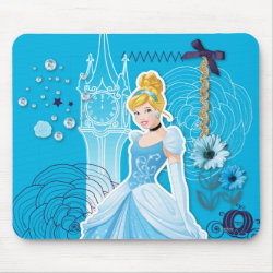 Mousepad with Mixed Media Cinderella design